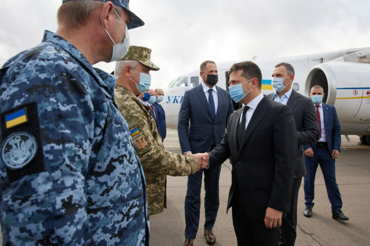 В Одесу на форум приїхав Володимир Зелен…