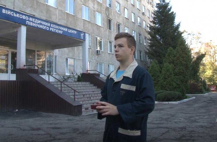 Харківський курсант, який вижив у катаст…