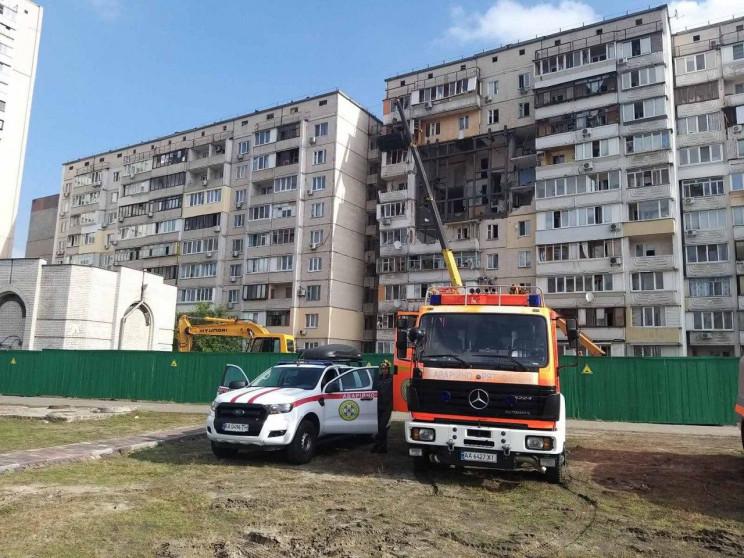 У київському будинку, де влітку стався в…