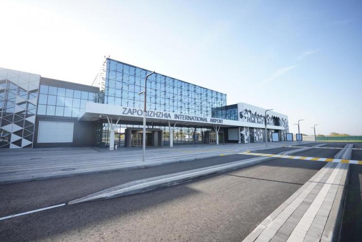 Новий термінал запорізького аеропорту за…
