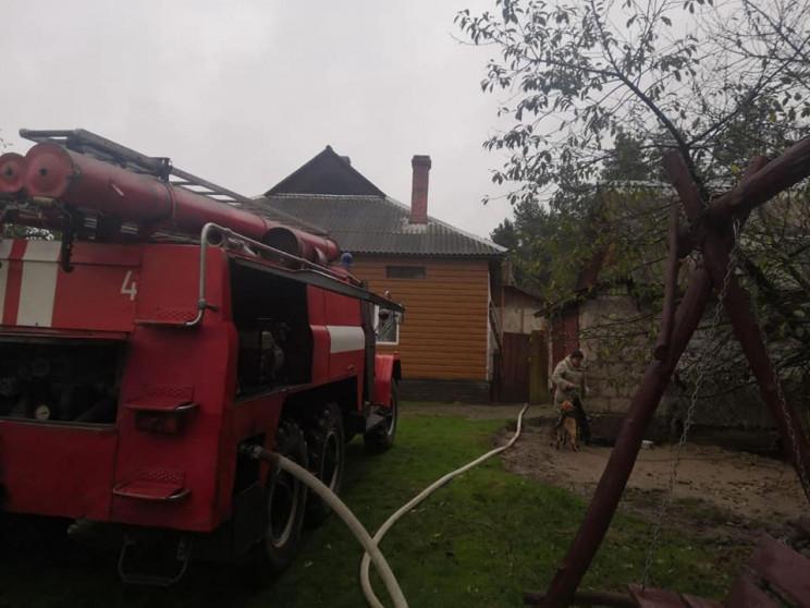 У Березнівському районі загасили пожежу…