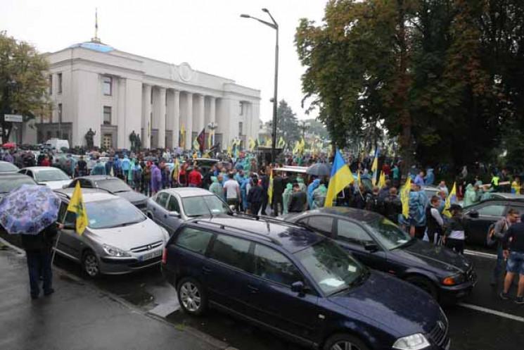 """""""Евробляхеры"""" под Радой: Почему Ярошевич…"""