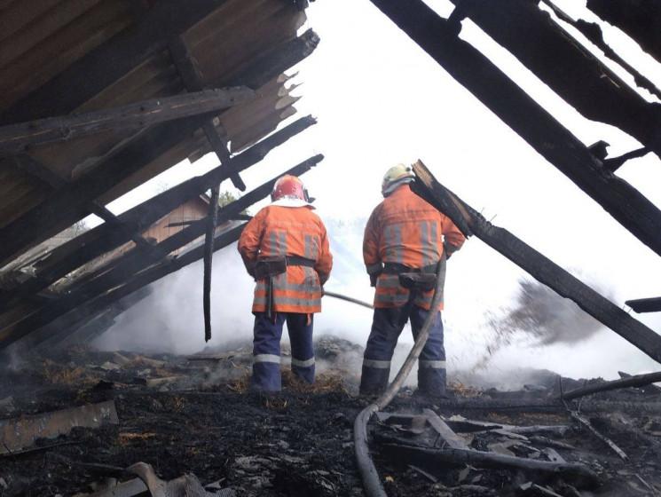 У Золочівському районі під час пожежі по…