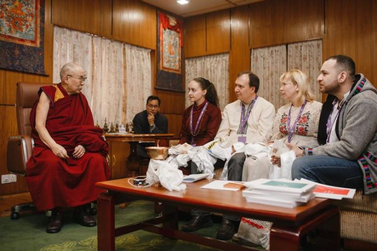 Далай-лама XIV впервые пообщается с укра…