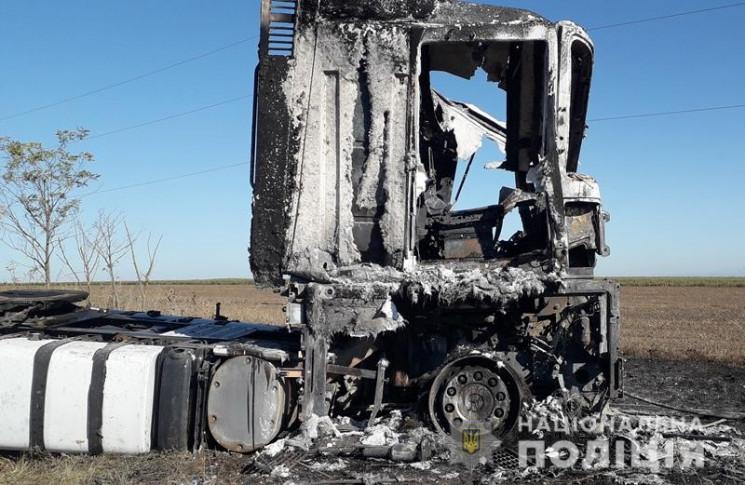 На Одещині зловмисники напали на далекоб…