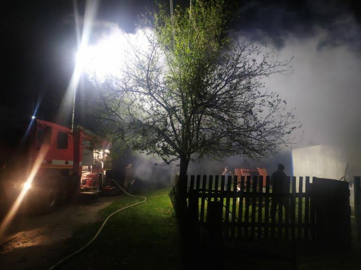 У Сарненському районі ліквідували пожежу…