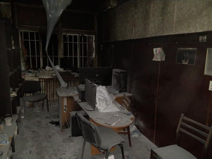 Під Одесою невідомі підпалили редакцію м…
