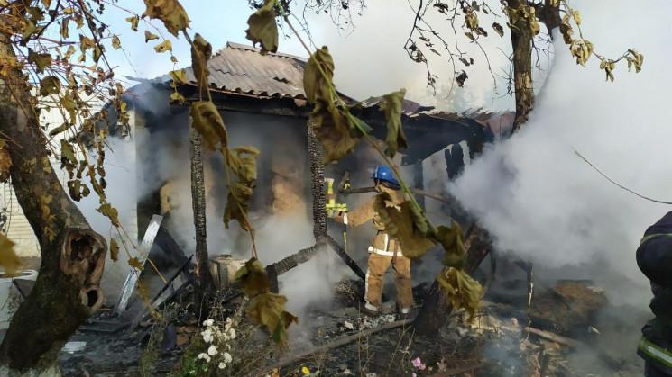 На Харківщині чотири години гасили палаю…