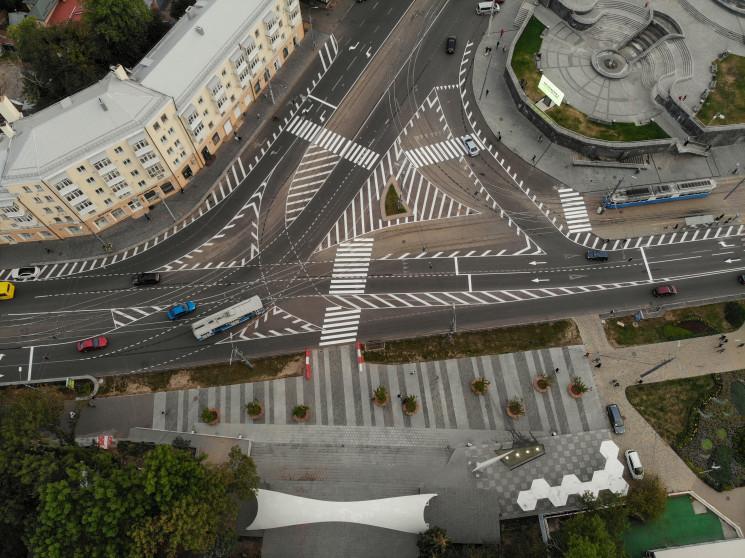 У Вінниці відкоригували схему руху на пл…