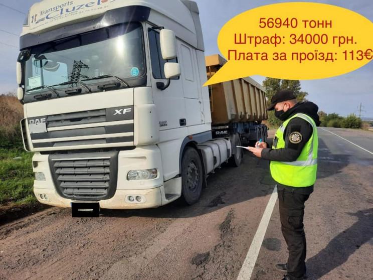 На Дніпропетровщині упіймали вантажівку…