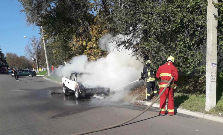 На Дніпропетровщині під час руху спалахн…