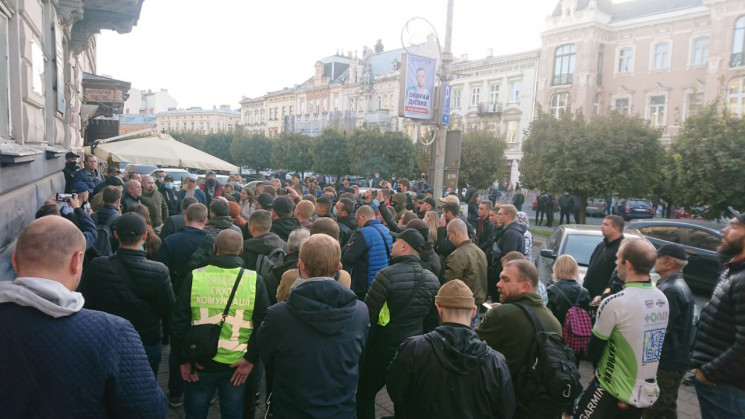 У Львові активісти зірвали представлення…