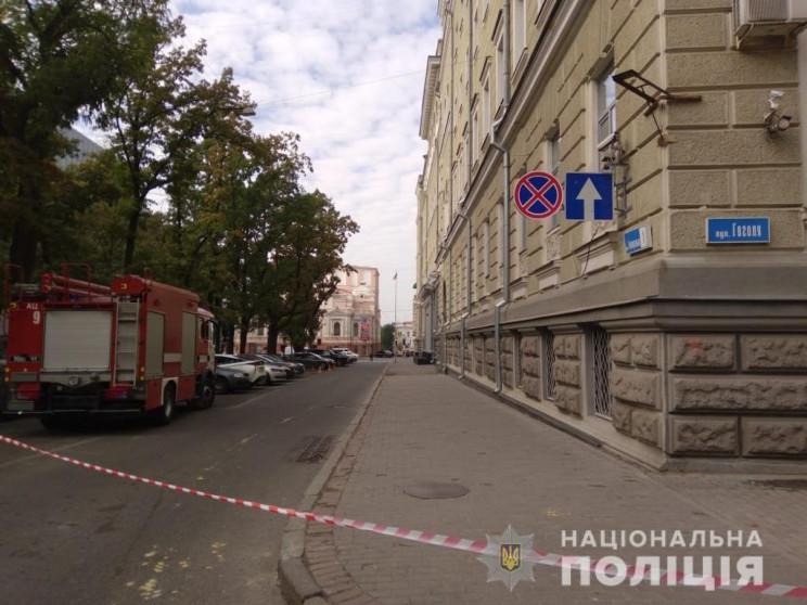 В Харькове из-за угрозы взрыва из суда э…