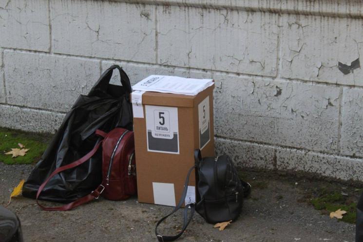 На Дніпропетровщині ганяють з виборчих д…