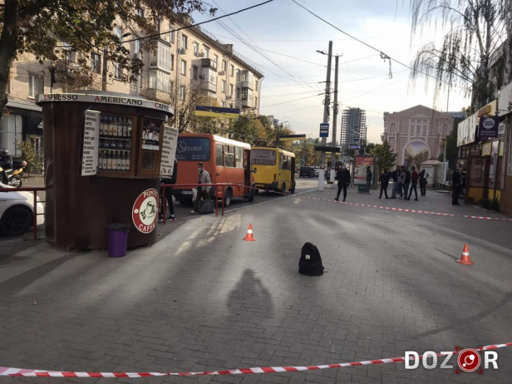 В день выборов в центре Кропивницкого го…