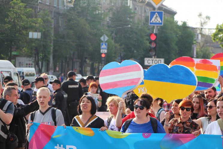 ЛГБТ-акція у Запоріжжі: Організатори в о…