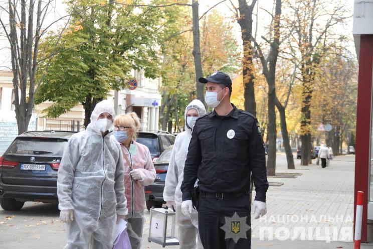 На Харківщині виборчі дільниці закрилися…
