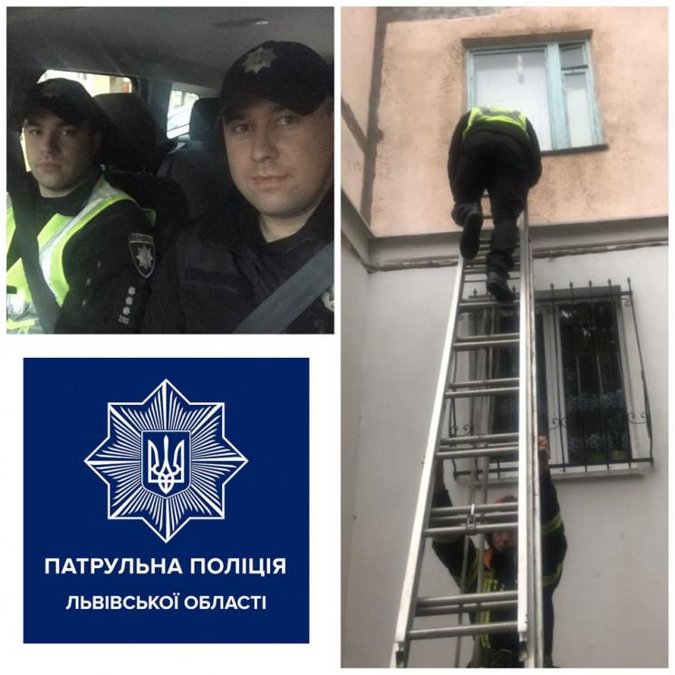 У Львові поліцейські допомогли чоловіку…