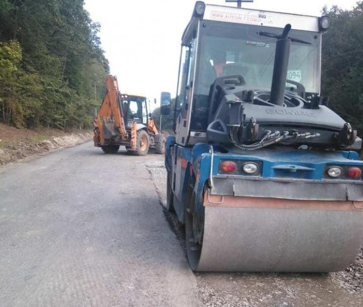 Розпочали ремонт дороги Ярмолинці - Сата…