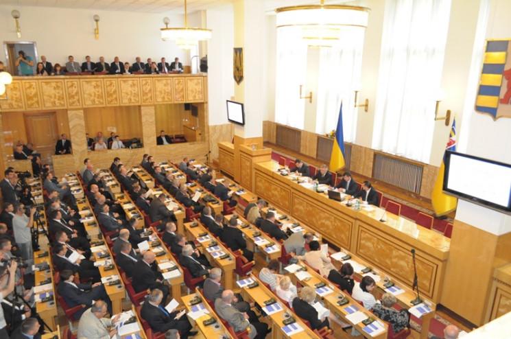 До закарпатської обласної ради проходять…