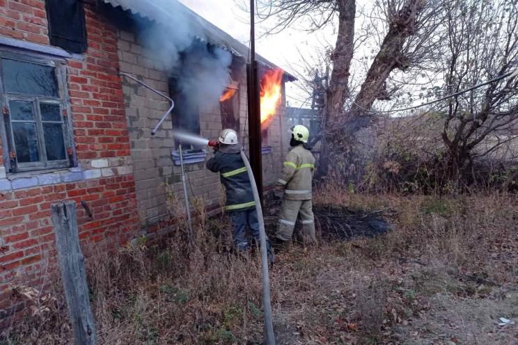 На Харківщині необережність з цигаркою к…