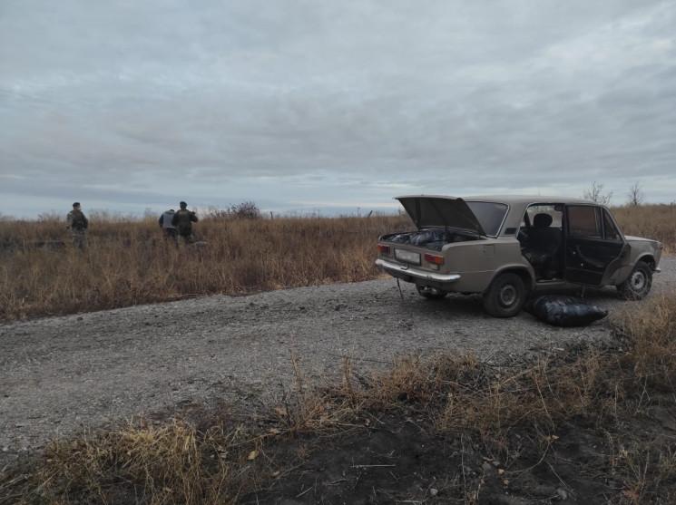 Харьковские пограничники оставили россия…