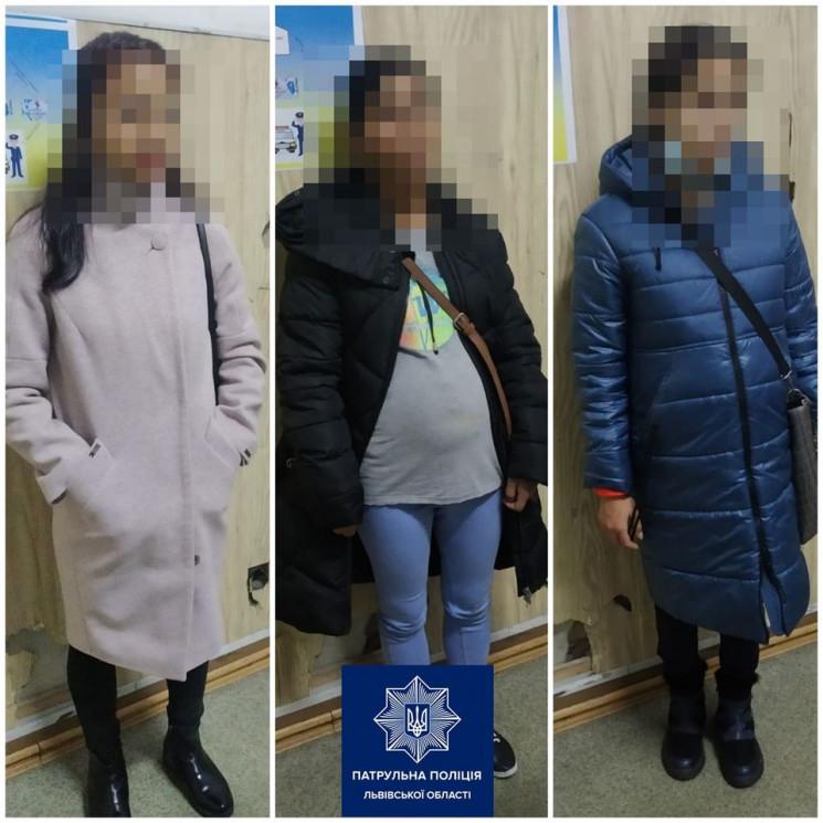 У центрі Львова затримали трьох молодих…