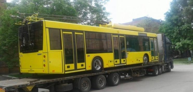 До Чернівців привезуть чотири тролейбуси…
