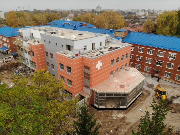 Для завершення будівництва лікарні на Ки…