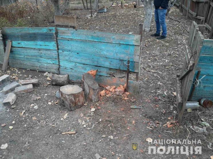 Взрыв на Харьковщине: Во дворе, где подо…