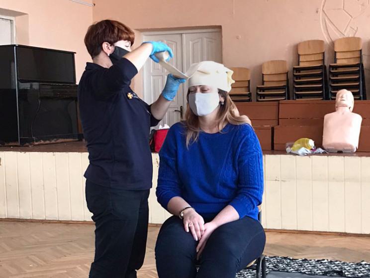 Рятувальники вчили ужгородських вчителів…