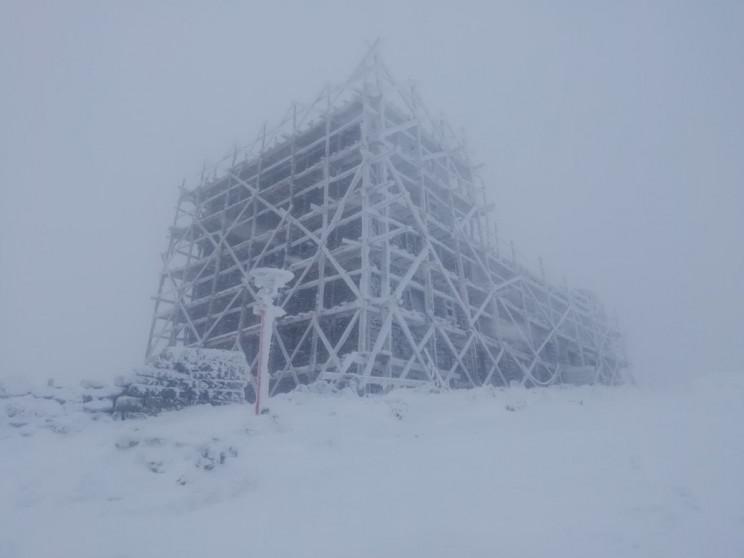 Гору Піп Іван замело снігом…