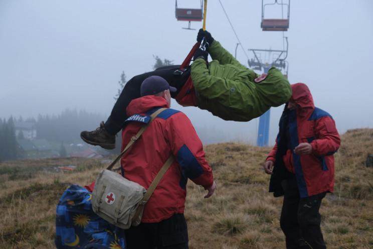 Закарпатські гірські рятувальники тренув…