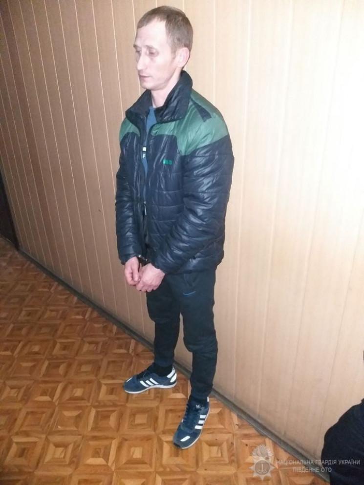В'язня, який втік з-під варти в Одесі, з…