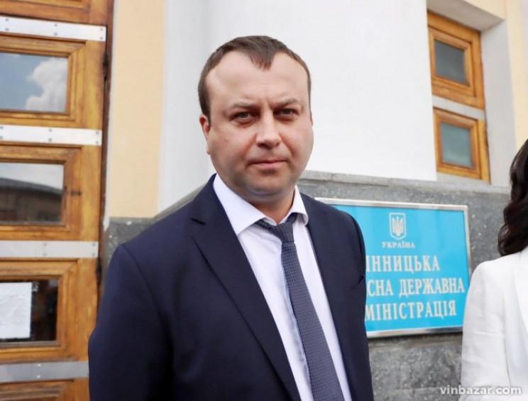 Председатель Винницкой ОГА Борзов идет н…