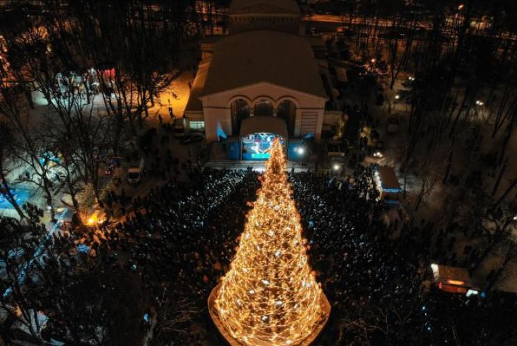 Вінничани зустрічатимуть Новий рік з 28-…