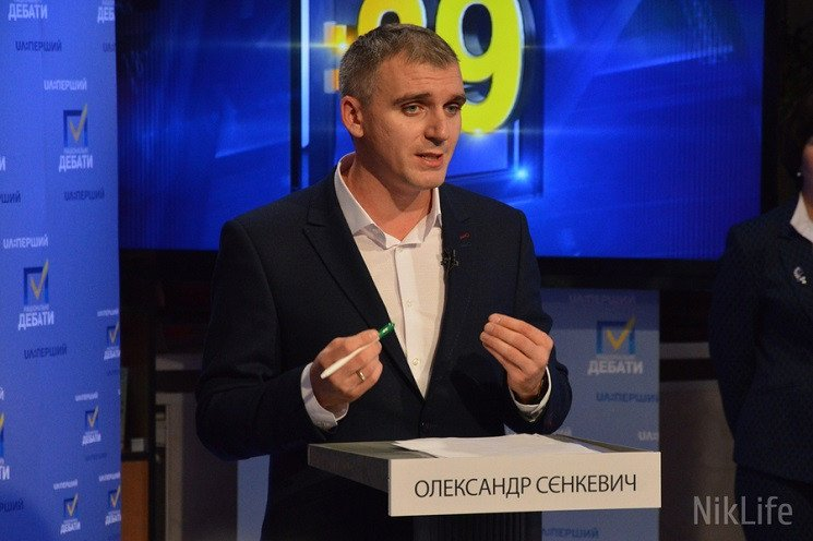 Врачи отпустили мэра Николаева Сенкевича…