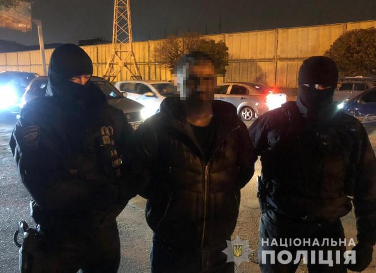 В Одесі поліція затримала рекетира з Рос…