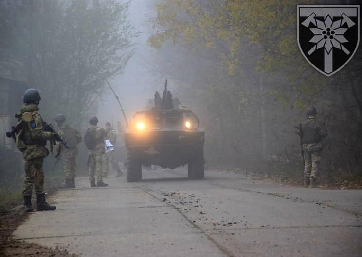 Військові навчання: 128-ма бригада патру…