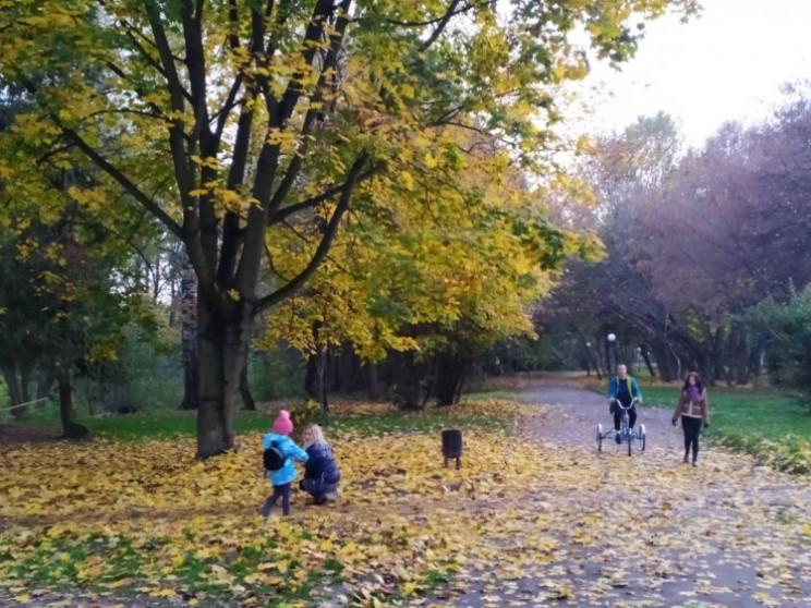 Как выглядит центр Львова в ноябре (ФОТО…