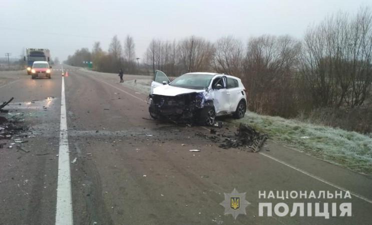 В ДТП у Волинській області загинули двоє…