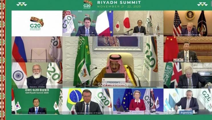 У режимі онлайн стартував саміт G20…