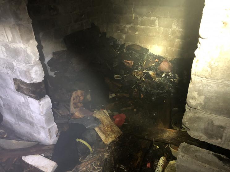 На Харьковщине произошел пожар в подвале…