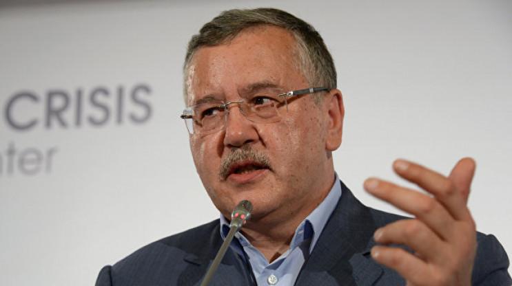 Гриценко прокоментував розпуск парламент…