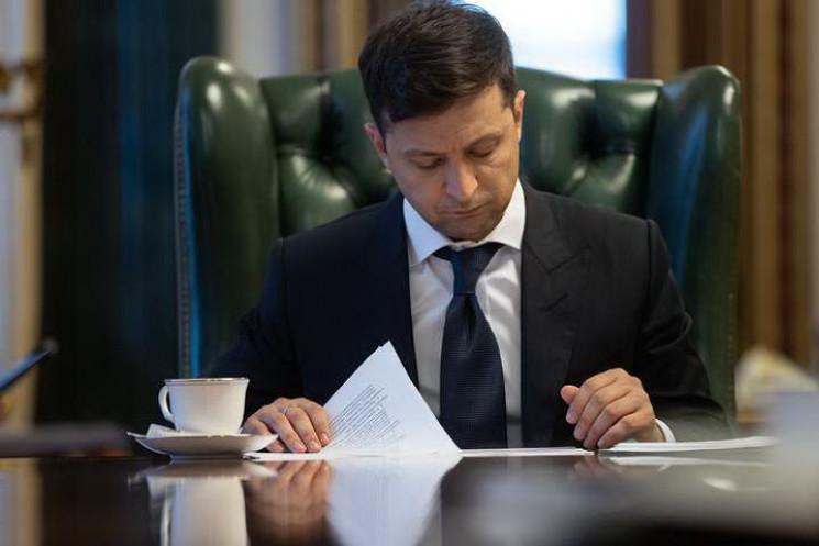 Зеленський звільнив призначену в квітні…