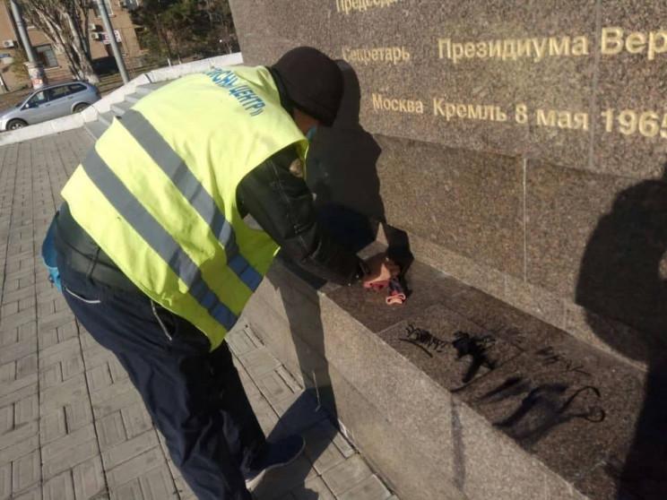 """Вандали в Одесі познущалися з """"Крил пере…"""