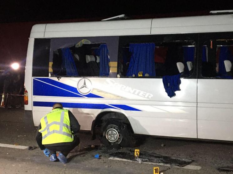 У Харкові підозрюваних у нападі на автоб…