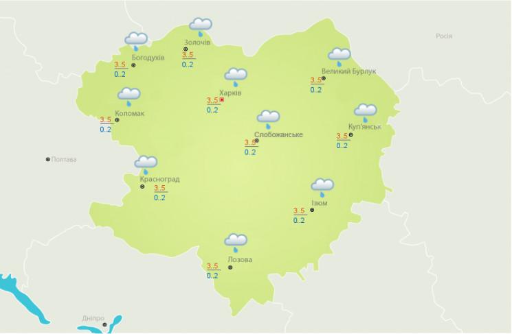 На Харківщині – складні погодні умови: П…