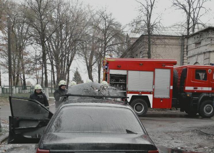 В спальном районе Запорожья утром сгорел…