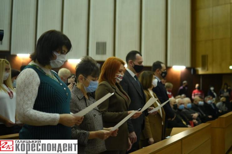 Новообрані депутати Франківської міськра…